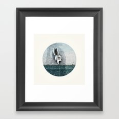 I LIVE IN A DREAM Framed Art Print