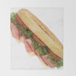 Deli Sandwich Throw Blanket
