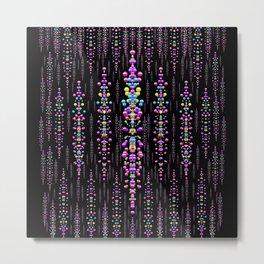 rainbow asteroid pearls in the wonderful atmosphere Metal Print