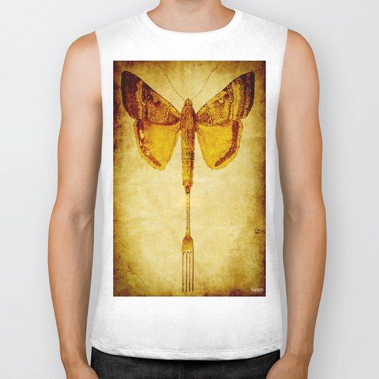 The butterfly fork Biker Tank