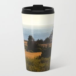 Lighthouse From Afar Travel Mug