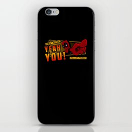 Dead Pull iPhone Skin