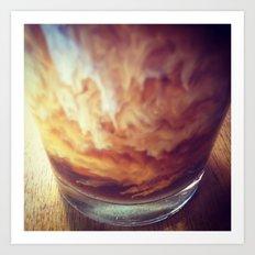 Coffee with Cream Art Print