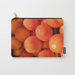 Persimmons in St Lawrence Market Carry-All Pouch