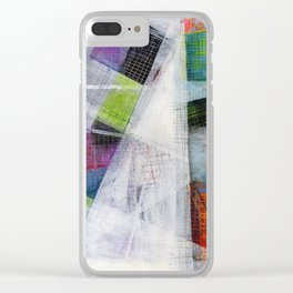 Inclined Clear iPhone Case