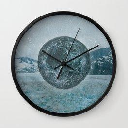 GLACIER MOON TWO Wall Clock