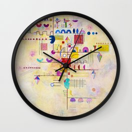 Wassily Kandinsky - Graceful ascent Wall Clock