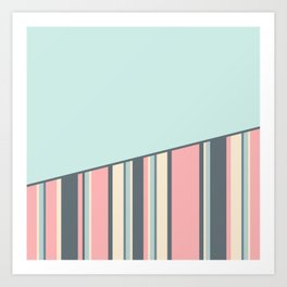 Candyman Cotton Candy in Menthol Variant Art Print