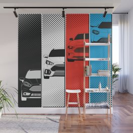 Fast Fords Wall Mural