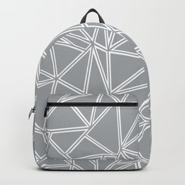 Ab Blocks Grey #2 Backpack