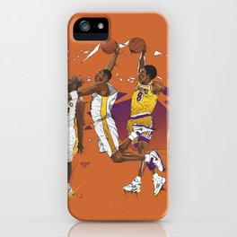 Mamba Mentality iPhone Case