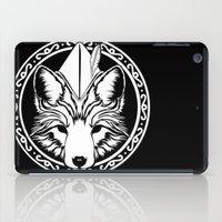 robin hood iPad Cases featuring Foxin Hood by AdamAether