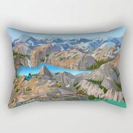 Rock Trip Rectangular Pillow