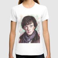 sherlock holmes T-shirts featuring Sherlock Holmes by Olechka