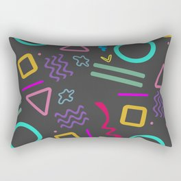 Back to the 80's Rectangular Pillow