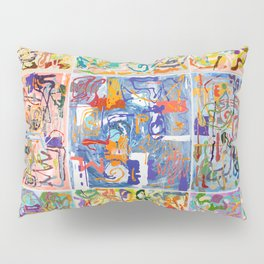 Shamanic Painting 1-9 Pillow Sham