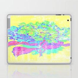Distressed Hydrangea {yellow} Laptop & iPad Skin
