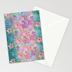 Summertime Flowers Stationery Cards