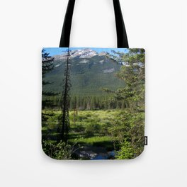 Beautiful Bow Valley Tote Bag