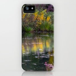 Channel in the Fall iPhone Case