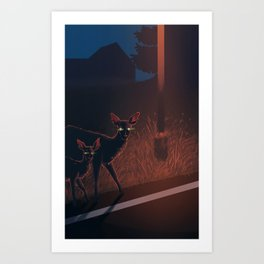 Nothing F**ks With My Baby Art Print