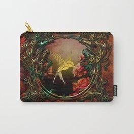 Golden flying bird Carry-All Pouch