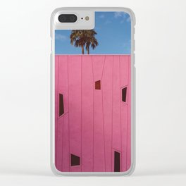 Palm Springs Vibes III Clear iPhone Case
