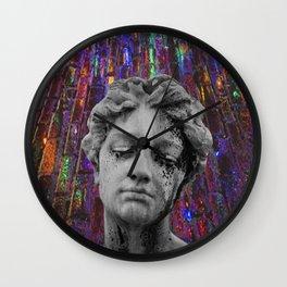 juxtaposed femme Wall Clock