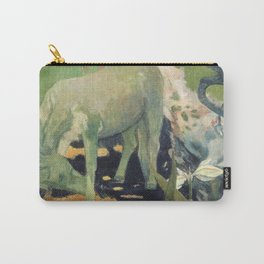 The White Horse by Paul Gauguin Carry-All Pouch