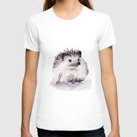 hedgehog T-shirts featuring Hedgehog by Bridget Davidson