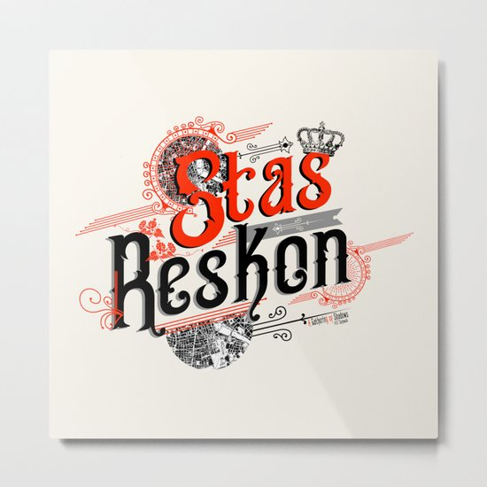 Stas Reskon - A Gathering Of Shadows Metal Print