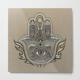 Hamsa Metal Print