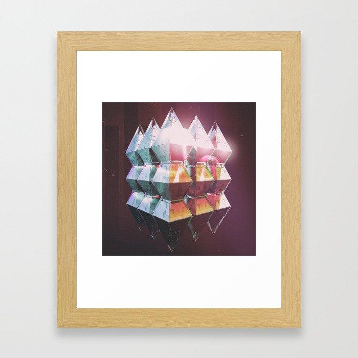Astronaut Candy Framed Art Print