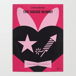 No966 My The House Bunny minimal movie poster Poster
