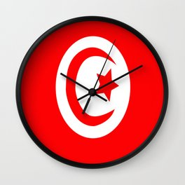 Flag of Tunisia Wall Clock