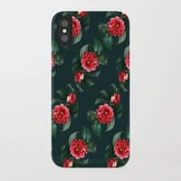 floral pattern iPhone & iPod Cases featuring Floral Pattern by Heart of Hearts Designs