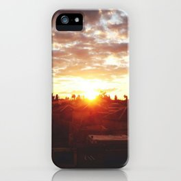 Moroccan Sunset iPhone Case