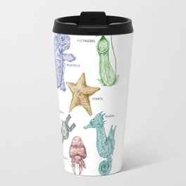 Species of Pocket Monsters - Colour Travel Mug