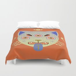 Mystic Cat Duvet Cover