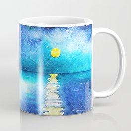 Under the moonlight || watercolor Coffee Mug