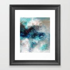 Ocean Spray in Abstract Framed Art Print