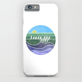 Earth Day 2017 iPhone Case
