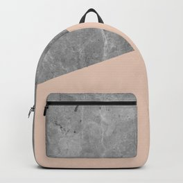 Simply Concrete Blush Pink Backpack