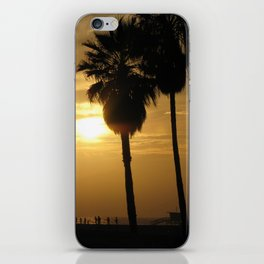 California Beach Sunset iPhone Skin