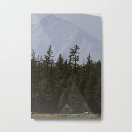 Mongolian Cabin Vibes Metal Print