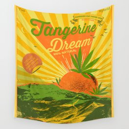 TANGERINE DREAM Wall Tapestry