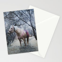 horse by Daniel Olson Stationery Cards
