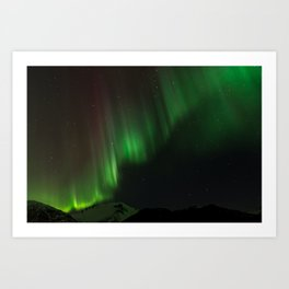 Northern Lights in Norway 02 Art Print