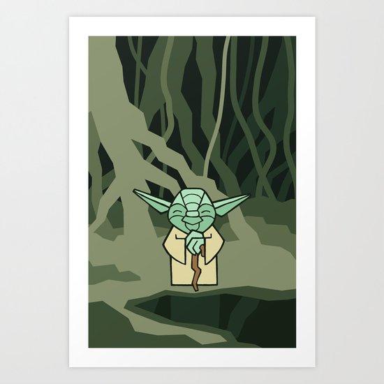 EP5 : Yoda Art Print