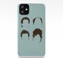 Seinfeld Hair Square iPhone Case